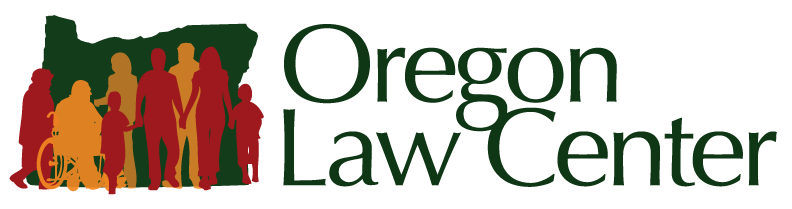 Logo and link for Oregon Law Center