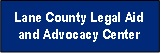 Logo for Lane County Legal Aid and Advocacy Center